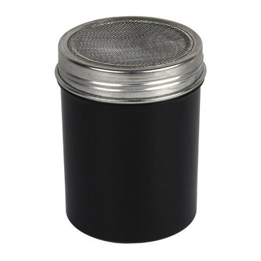 Black cocoa shaker