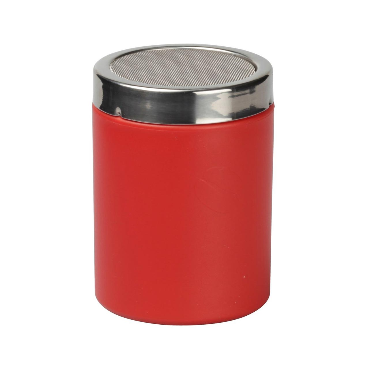 Red cocoa shaker