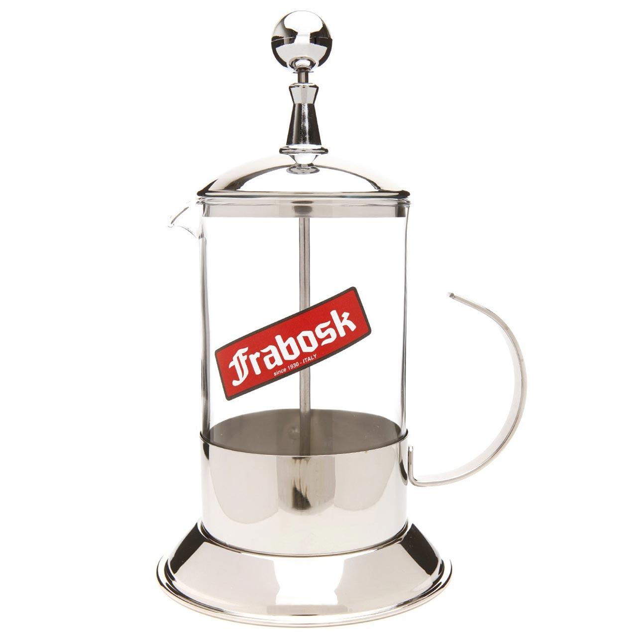 FRABOSK Vintage Cafetiere Coffee or Tea Plunger 8 Cup | the design gift shop
