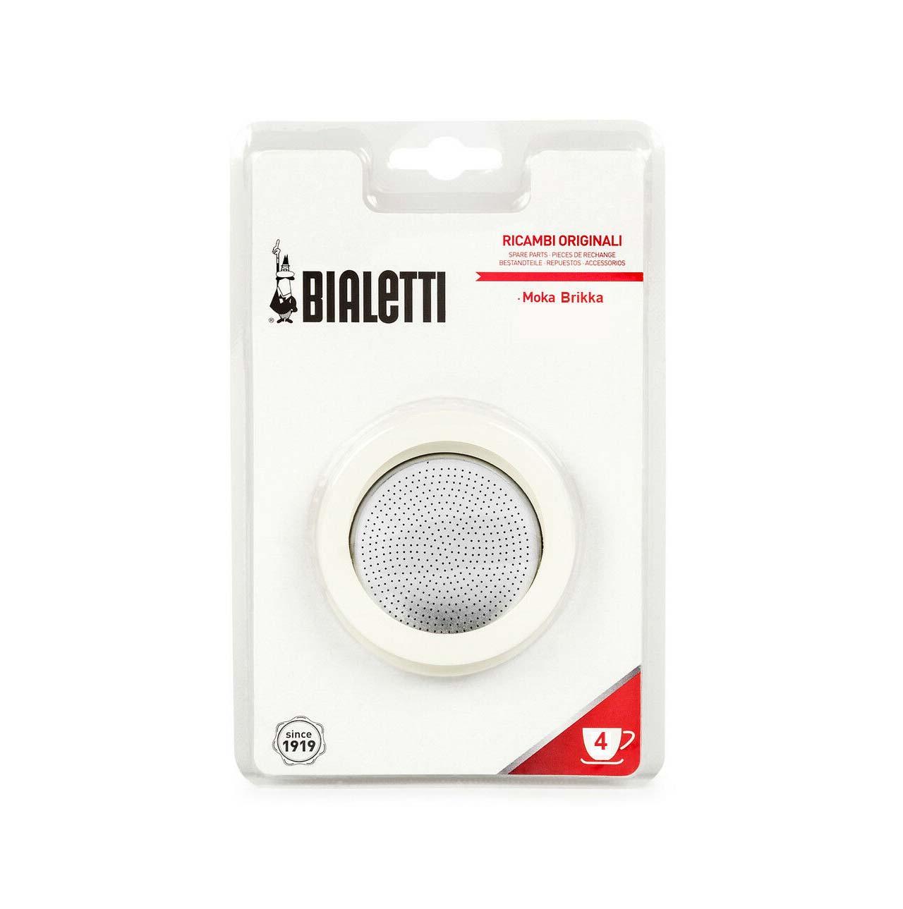 BIALETTI Seal and Filter Kit | Moka Express & Brikka 4 / 6 cup