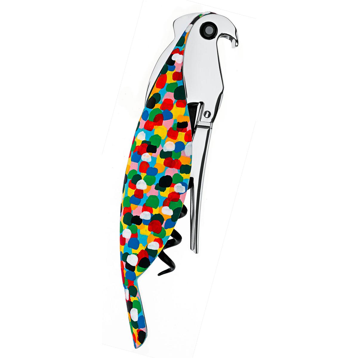 ALESSI PARROT PROUST Sommelier Corkscrew - handpainted | the design gift shop