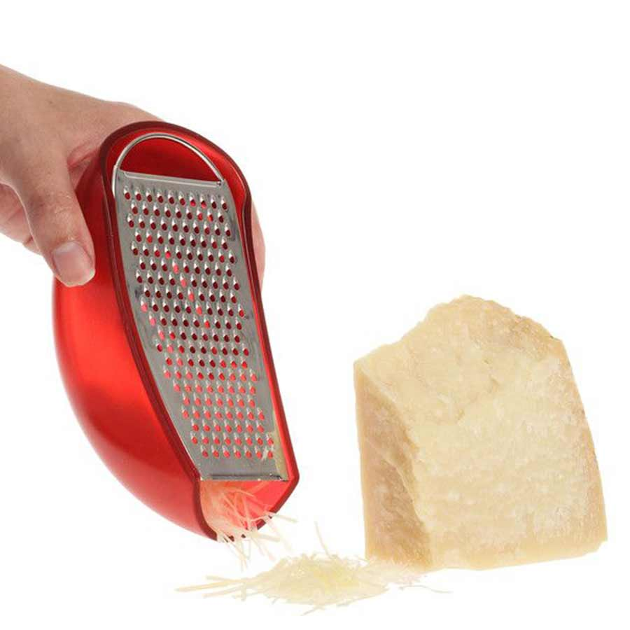 ALESSI Cheese GraterParmenide   red