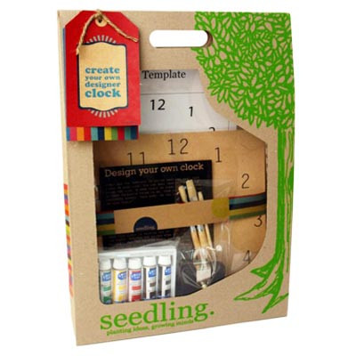 Seedling NZ - 'Create your own Clock' kit