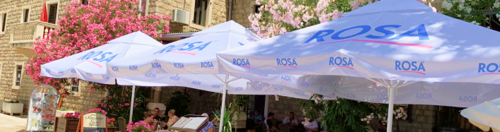 BUY CUSTOM BRANDED PATIO UMBRELLAS
