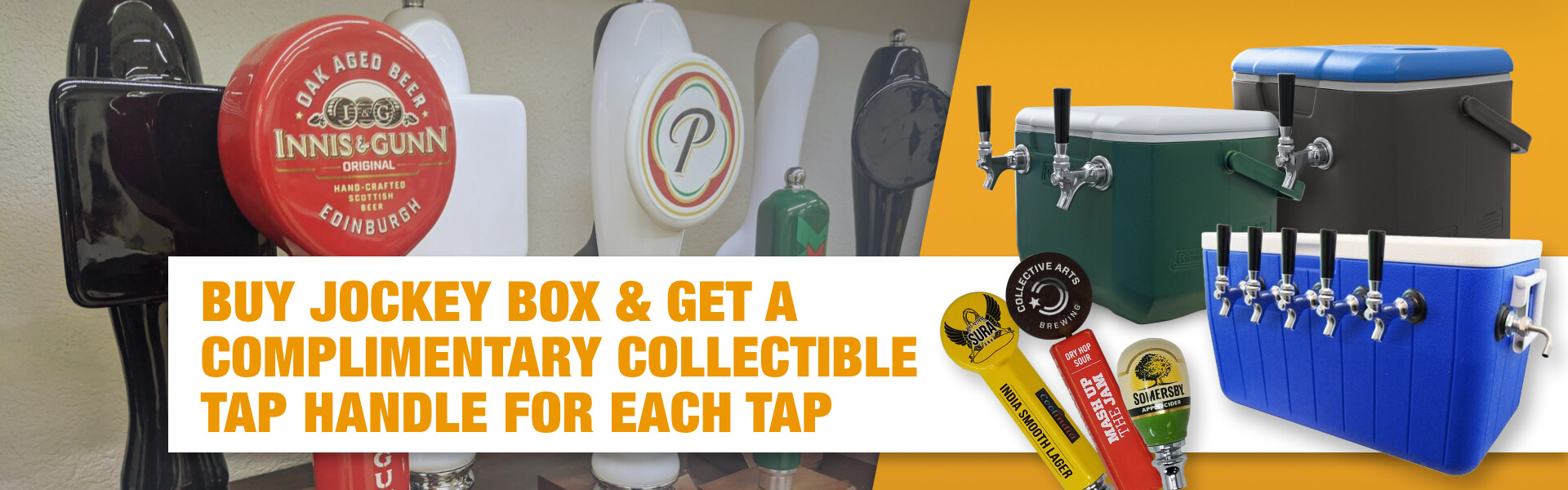Beer Jockey Box Cooler promotion