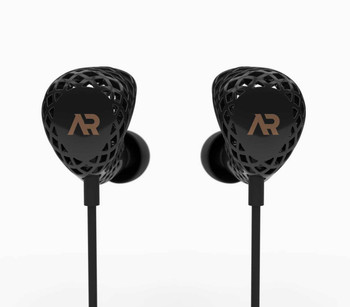 Heygears Anora 3D Printed Balanced Armature Earphones Black