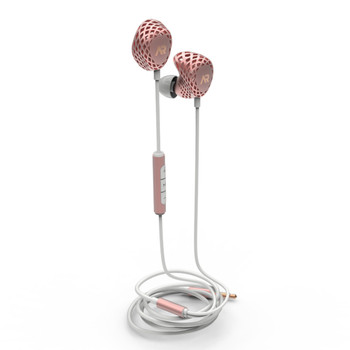 Heygears Anora 3D Printed Balanced Armature Earphones Rose Gold