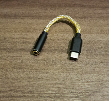 Alpha & Delta Type-C adapter with internal DAC