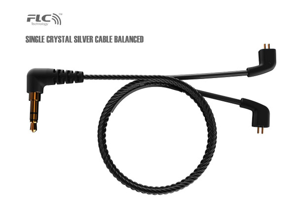 FLC8S single crystal silver upgrade cable balanced
