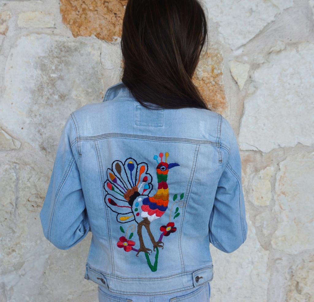 Pavo Real Denim Jacket