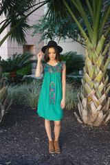 """Monte Verde"" Mexican Dress"