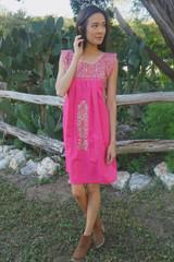 """""""Rosa Linda"""" Mexican Dress"""