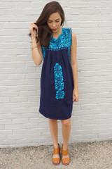 """""""La Paz"""" Mexican Dress"""