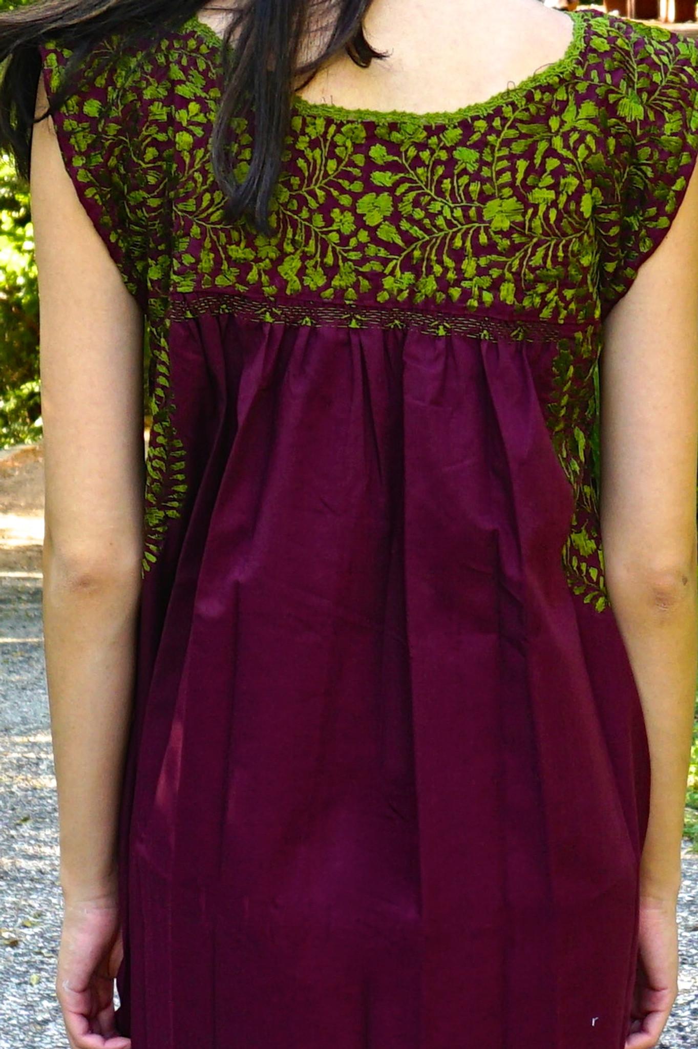 """Monarca"" Mexican Dress"