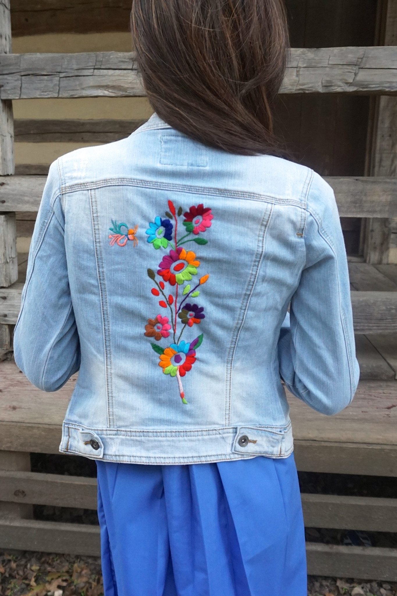 Flor de Vida Denim Jacket