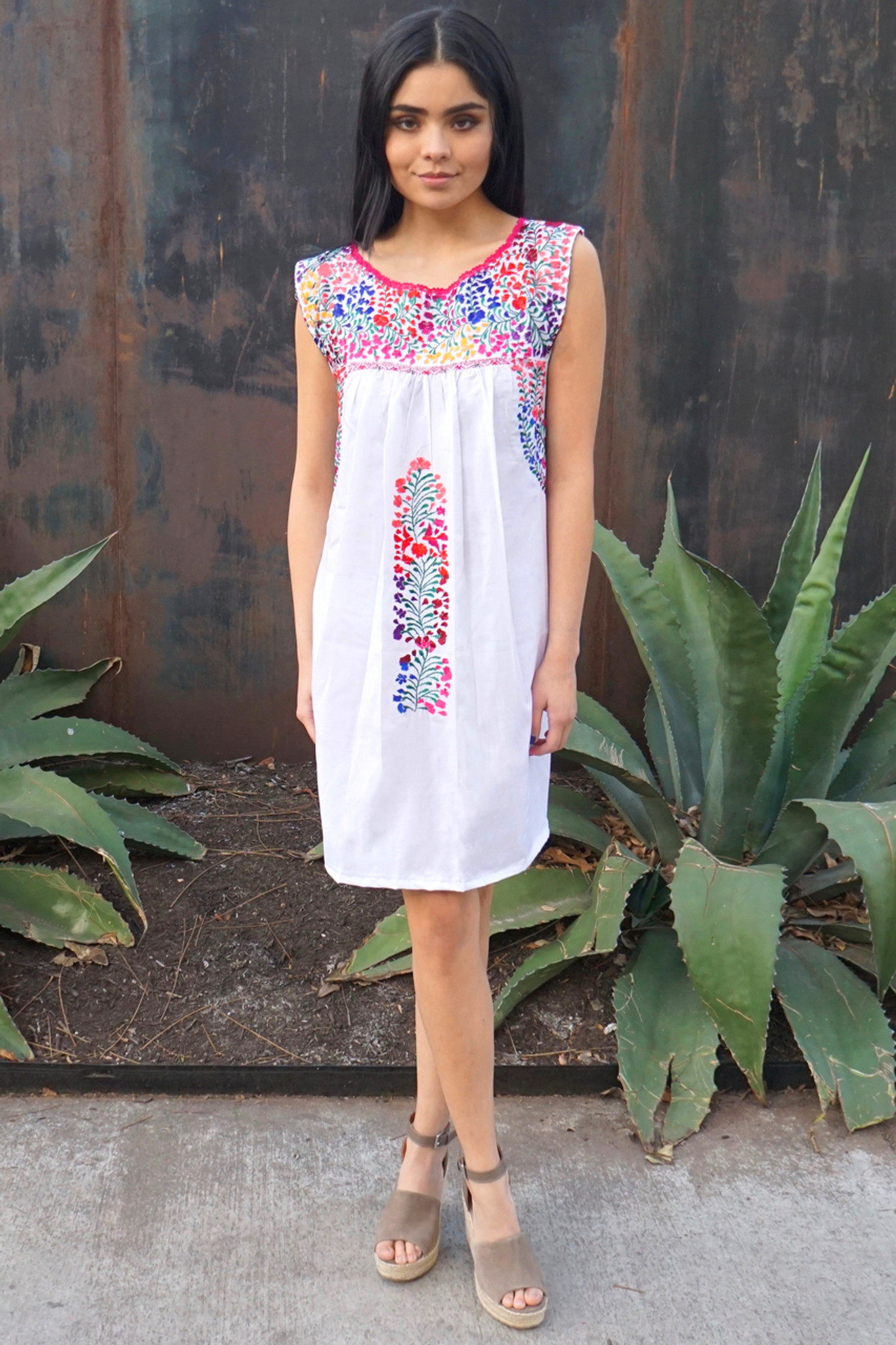 """ Azucena"" Mexican Dress"