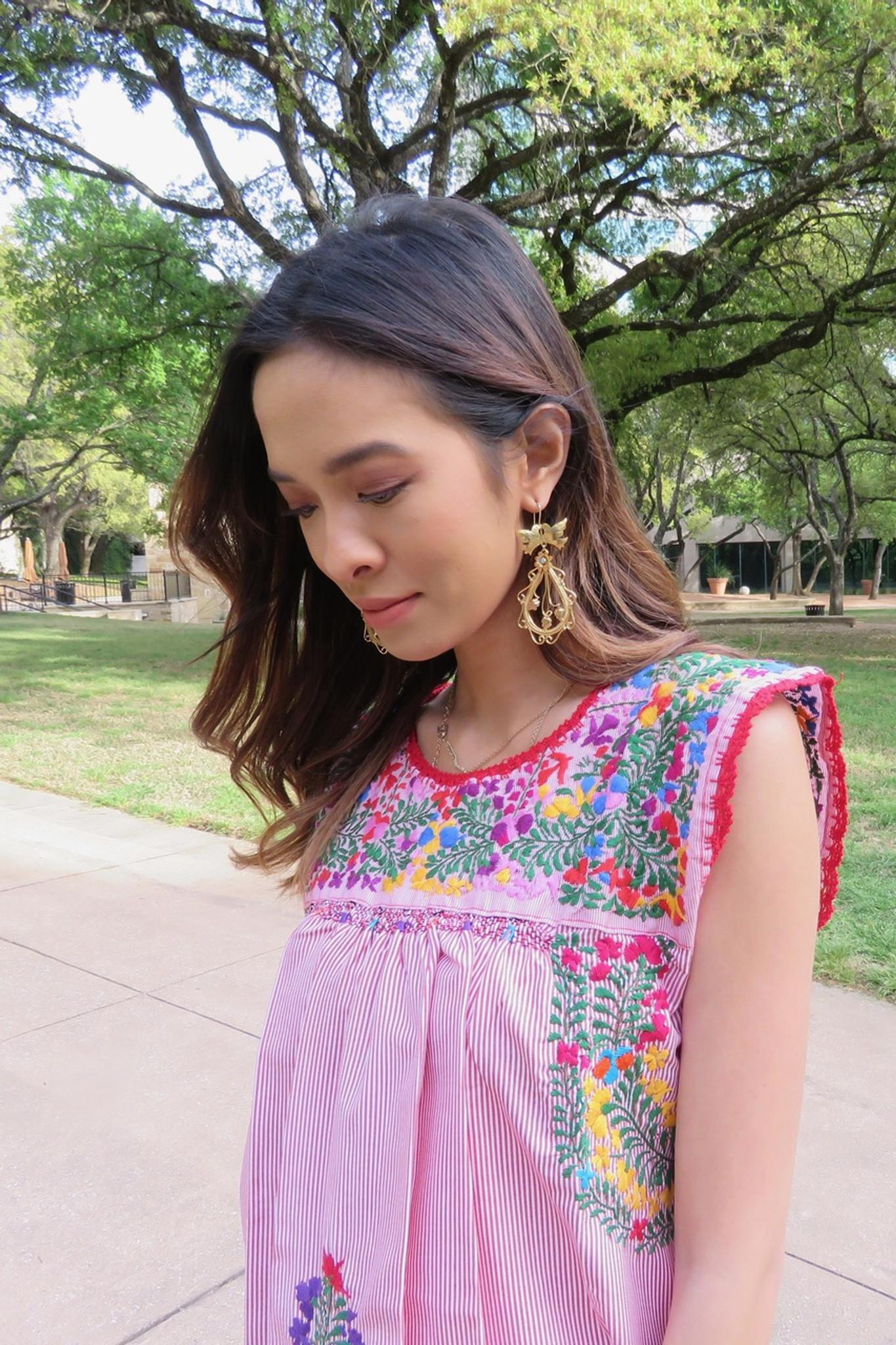 """""""Luz de Dia"""" Mexican Dress"""