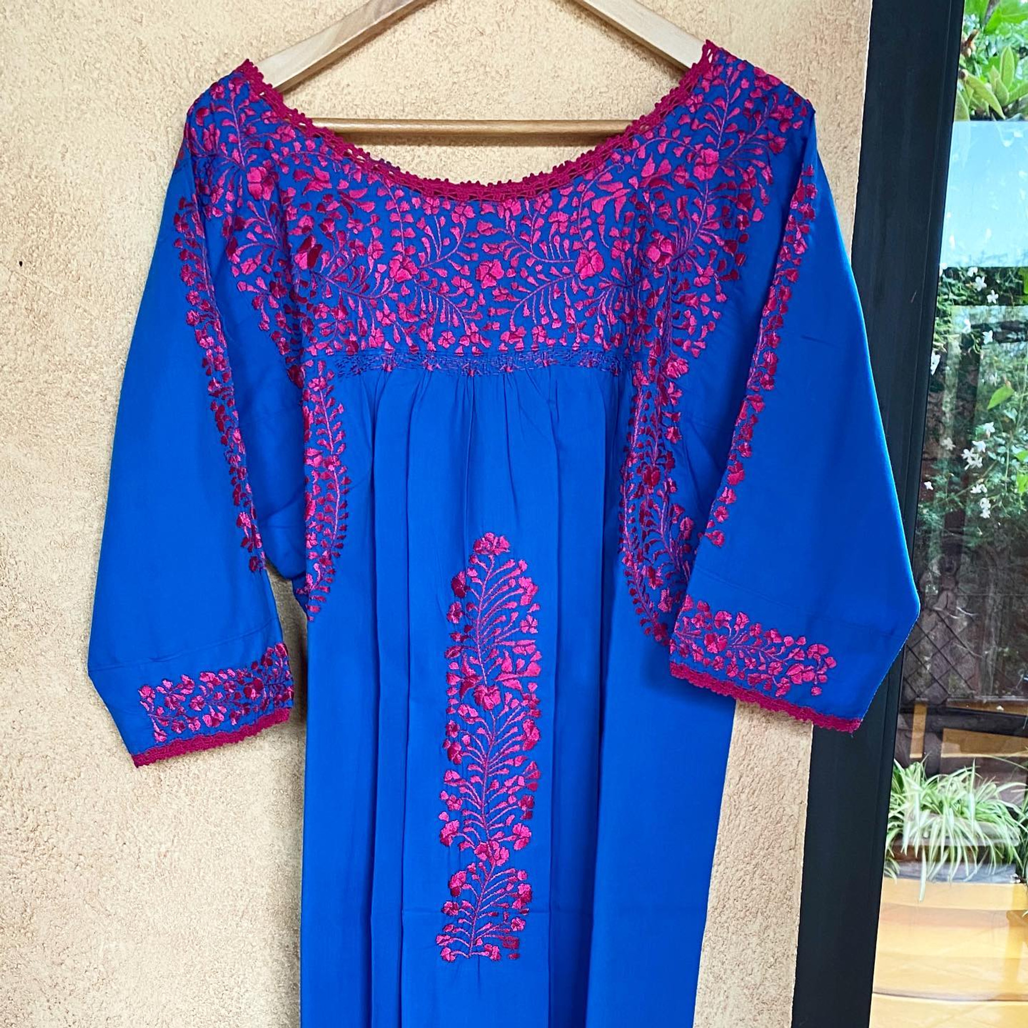 Carnaval Dress with 3/4 Sleeve