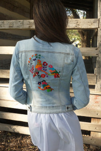 Tres Pajaritos Denim Jacket