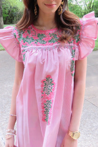 """""""Rosa Mexicana"""" Mexican Dress"""