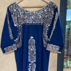 Media Noche Dress with 3/4 Sleeve