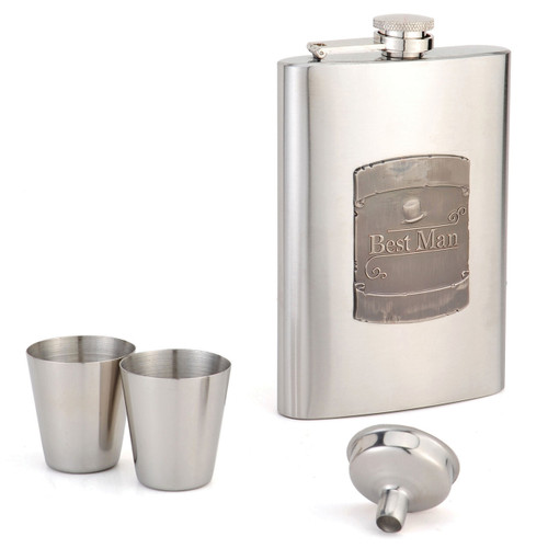 8oz Flask Bestman