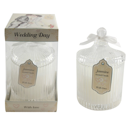 Jennifer Wedding Day Candle 21cm