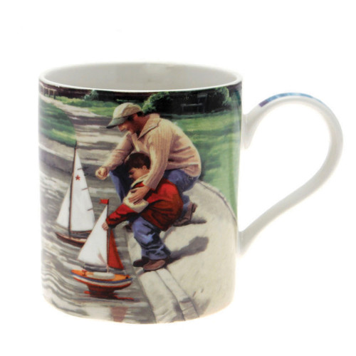 Man's Life Father & Son Mug