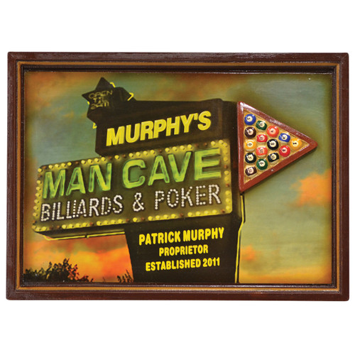 Wall Plaque Murphy's Man Cave