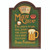 Wall Plaque Man Cave - The Place To Go