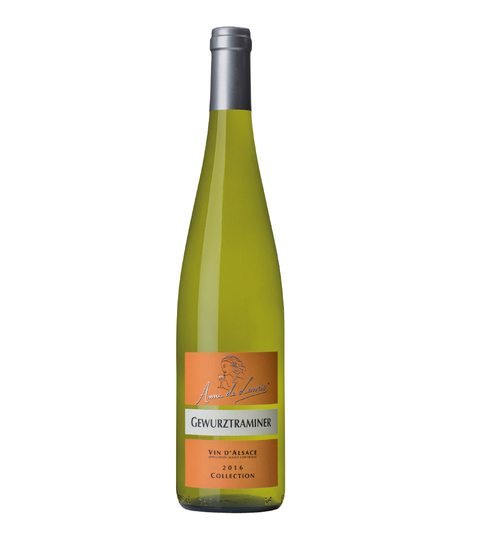 Domaine Anne de Laweiss - Gewurztraminer Collection 2016 - Alsace - 6 bottles case FREE DELIVERY
