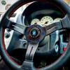 6 x Exoracing Burnt Titanium m5x20 Steering wheel bolts countersunk