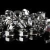 4 x Exoracing Flanged Honda civic integra titanium suspension strut top nuts