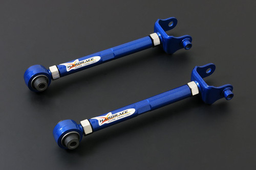HARDRACE ADJUSTABLE REAR TOE CONTROL ARM WITH HARDENED RUBBER BUSHES 2PC SET MAZDA3 MAZDA6 13-