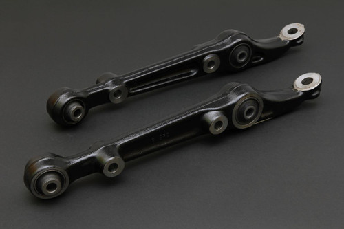 HARDRACE FRONT LOWER CONTROL ARM WITH HARDENED RUBBER BUSHES 2PC SET HONDA CIVIC EG 92-96