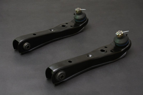 HARDRACE FRONT LOWER CONTROL ARMS WITH HARDENED RUBBER BUSHES 2PC SET TOYOTA COROLLA AE86