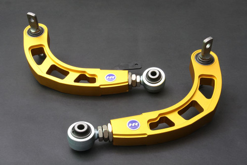 HARDRACE GOLD ADJUSTABLE REAR CAMBER KIT V2 WITH HARDENED RUBBER BUSHES 2PC SET HONDA CIVIC FD SI 06-11