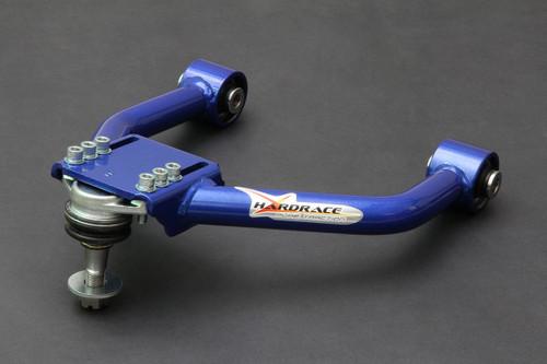 HARDRACE ADJUSTABLE FRONT UPPER NEGATIVE ARM WITH SPHERICAL BEARINGS 2PC SET LEXUS IS250 350 GS350 GS450 06-13