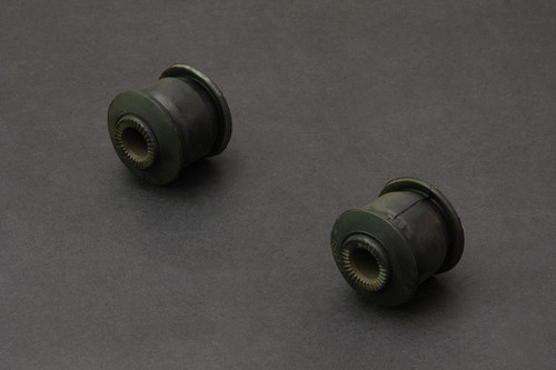 HARDRACE HARDENED RUBBER FRONT REAR LOWER ARM BUSHES 2PC SET TOYOTA MARK II JZX90 JZX100
