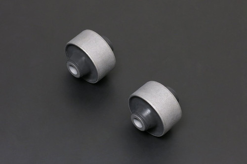 HARDRACE HARDENED RUBBER FRONT TENSION ROD BUSHES 2PC SET LEXUS IS200 IS300 TOYOTA JZX90 JZX100 98-05