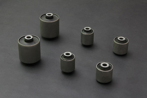 HARDRACE HARDENED RUBBER REAR LOWER ARM BUSHES 6PC SET HONDA CIVIC EK 96-00