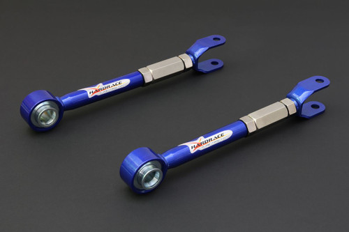HARDRACE ADJUSTABLE SUPER STRONG REAR TRACTION ROD WITH SPHERICAL BEARINGS 2PC SET NISSAN GT-R R35