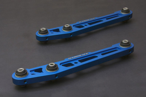HARDRACE ALUMINIUM REAR LOWER CONTROL ARM WITH -50MM SPHERICAL BEARINGS 2PC SET HONDA CIVIC EG INTEGRA DC2 TYPE R 92-00