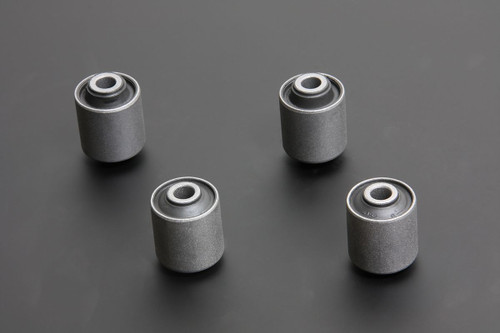 HARDRACE HARDENED RUBBER REAR UPPER ARM BUSHES 4PC SET LEXUS IS200 IS300 TOYOTA JZX90 JZX100 98-05