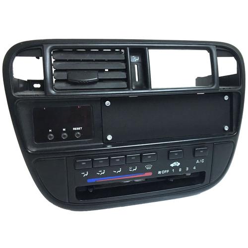 Honda Civic EK flush single din stereo blanking plate w/ hardware