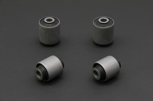 HARDRACE HARDENED RUBBER TOE CONTROL ARM BUSHES 4PC SET HONDA CIVIC EF EG EK INTEGRA DA DC2 88-00