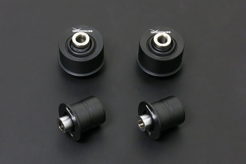 HARDRACE SPHERICAL BEARINGS FRONT LOWER ARM BUSHES CASTER INCREASE 4PC SET HONDA CIVIC EP3 INTEGRA DC5 01-05
