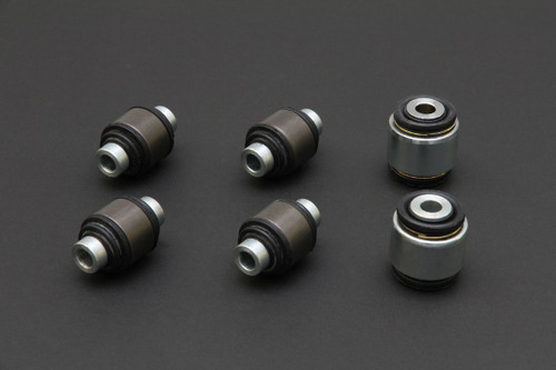 HARDRACE SPHERICAL BEARINGS REAR LOWER ARM BUSHES (40MM SHOCK BUSH) 6PC SET HONDA CIVIC EK 96-00