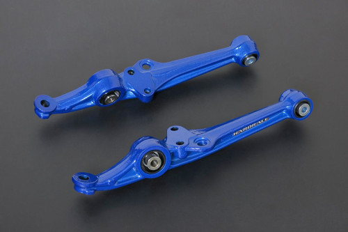 HARDRACE FRONT LOWER CONTROL ARM WITH SPHERICAL BEARINGS 2PC SET HONDA CIVIC EF 89-92