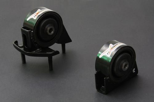 HARDRACE HARDENED ENGINE MOUNTS 2PC SET TOYOTA COROLLA 93-96